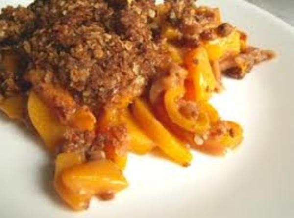 Aunt Martha's Peach Cobbler Recipe