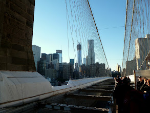 Photo: View back to Manhattan.
