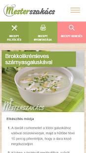 Mesterszakács - receptek for PC-Windows 7,8,10 and Mac apk screenshot 4