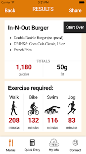 Exercise Calorie Converter- screenshot thumbnail