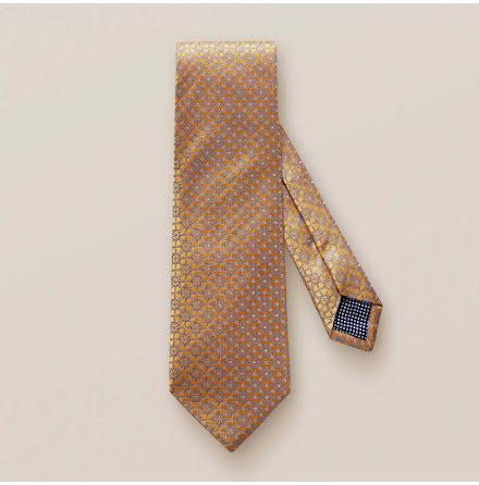 ETON gul blomvävd slips