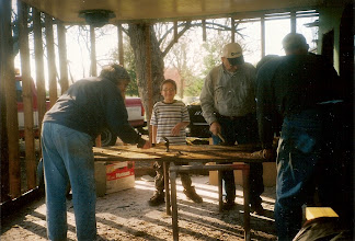 Photo: Salvaging boards