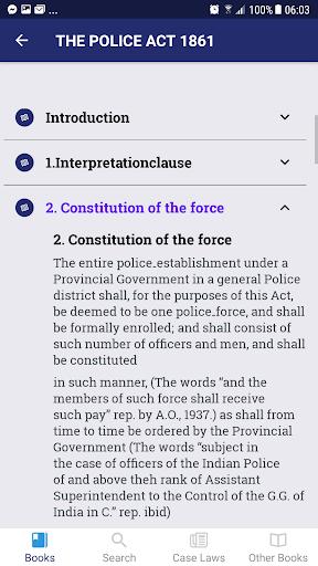 Police Law of Pakistan screenshot 2