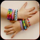 Fancy rubber bracelets