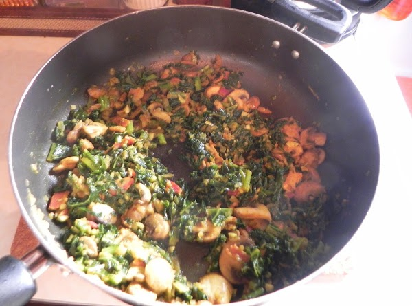Fry up the bacon and then set aside. Sauté the onions in oil and...