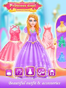 Princess Gopi Doll Fashion Salon -Makeup & Dressup - náhled