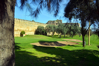 Photo: The Royal Palace garden/golf course - built by the current King's father - an avid golfer