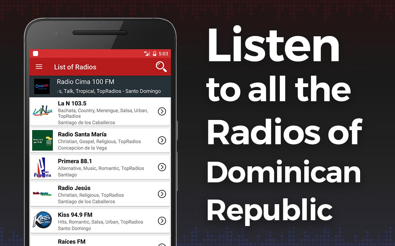 Colorvision online republica dominicana - Radio Dominican Republic Screenshot