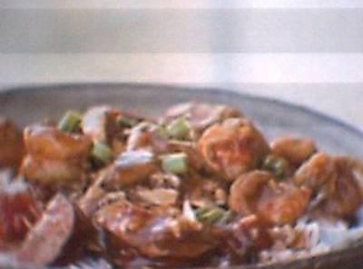Shrimp & Sauasge Stew Recipe