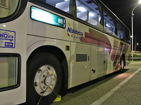 西鉄高速バス「フェニックス号」 9912 えびのパーキングエリアにて その2