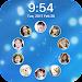 Lock screen cirle Icon