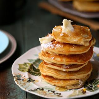 Banana Milk Chocolate Weekend Pancakes