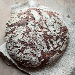 Rustic Rye Sourdough Bread With Milk Kefir