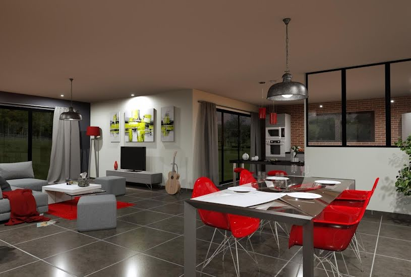 Vente Terrain + Maison - Terrain : 1000m² - Maison : 159m² à Saint-Mars-de-Coutais (44680)