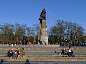 Photo: Vilnius. Lietuvos didysis kunigaikštis Gediminas.