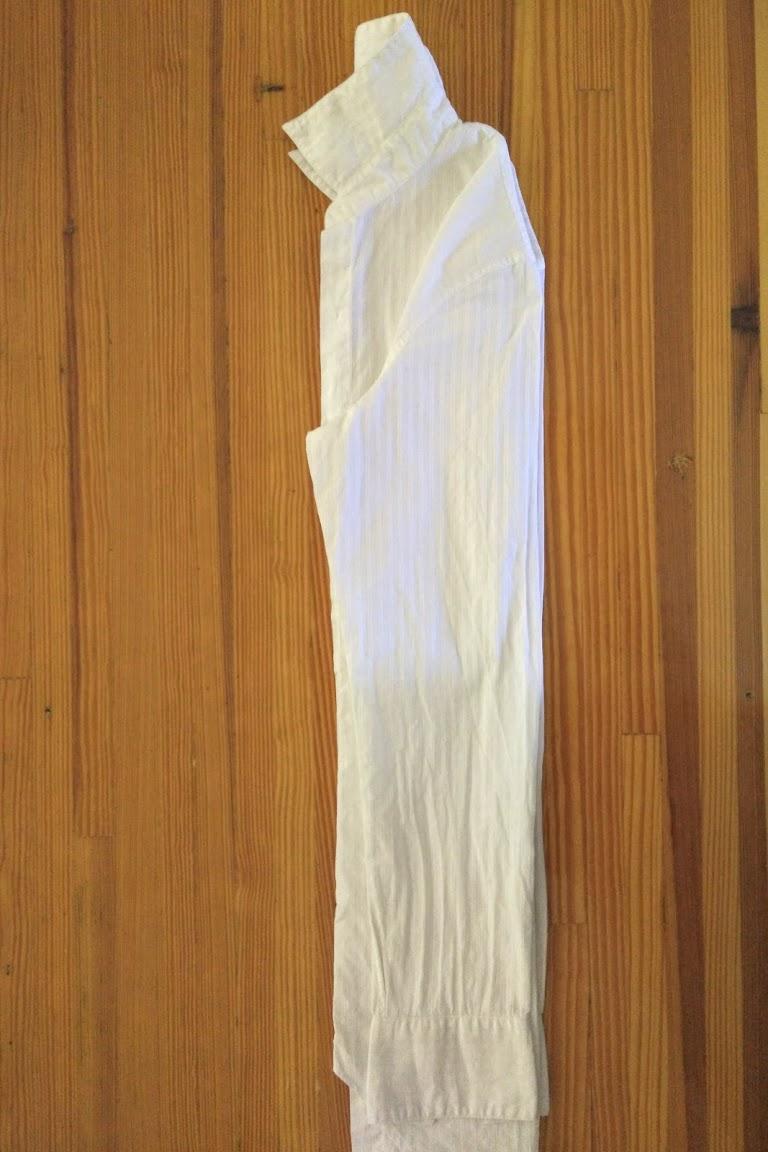 In-Progress: Bind Resist Dye Shirt, Square Accordion Fold Style - DIY Fashion Garment | fafafoom.com
