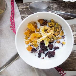 Spiced Quinoa Breakfast Bowl