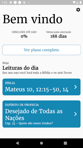 Bible Plan screenshot 1