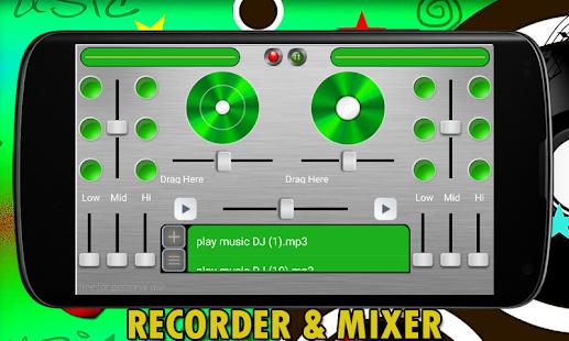 DJ Mixer Recorder screenshot