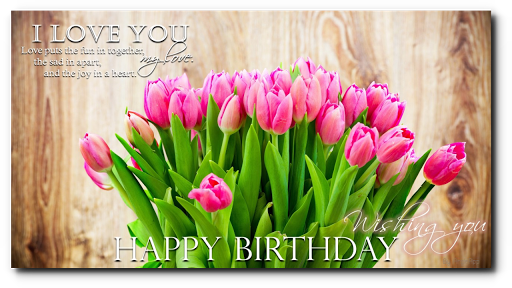 Happy Birthday Cards Cake Love Message Quotes Screenshot 9