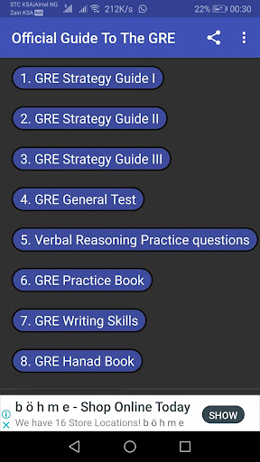 GRE Prep & Practice screenshots 1