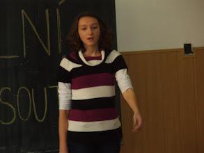 Photo: Školní kolo recitační soutěže - Lucka z 2. A.