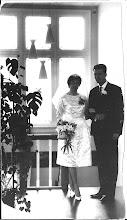 Photo: Wim en Hilly, mijn broer en schoonzus. Getrouwd in 1963.