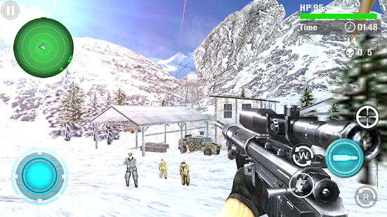 Game Mountain Sniper Shooting APK for Windows Phone