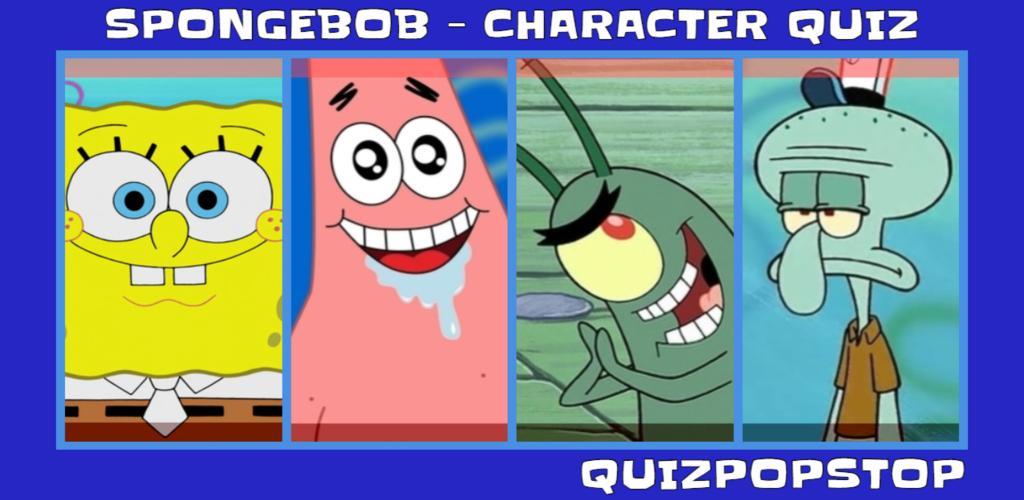 spongebob: spongebob character quiz magiquiz
