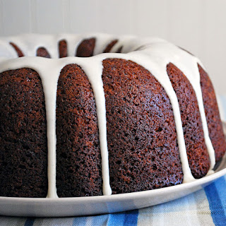 Low Carb Double Chocolate Bundt Cake