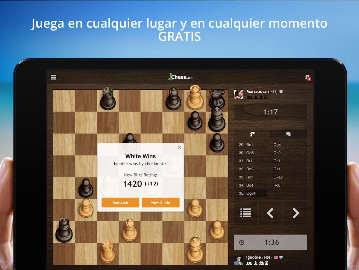 Ajedrez - Juega y Aprende: captura de pantalla