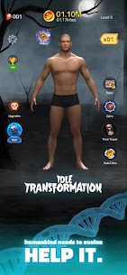 Idle Transformation Mod Apk (Unlimited Diamonds + No Ads) 1.1.1 1