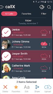 App Call Recorder - Automatic Call Recorder - callX APK for Windows Phone