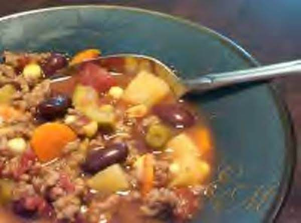 Hearty Hamburger Stew Recipe