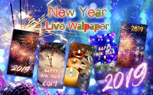 Happy New Year Wallpaper 2019 u2013 Holiday Background 2.5 screenshots 7