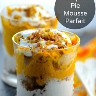 Pumpkin Pie Mousse Parfait ( Vegan & Gluten Free) Recipe