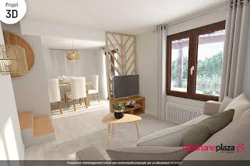 Appartement 4 pièces 104,34 m2