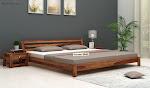 Order online wooden single bed in Delhi at Wooden Street