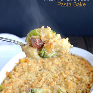 Ham and Broccoli Pasta Bake