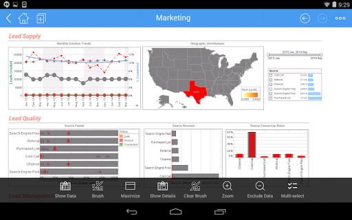 InetSoft Mobile Version 12.1 1.0.3 screenshots 13