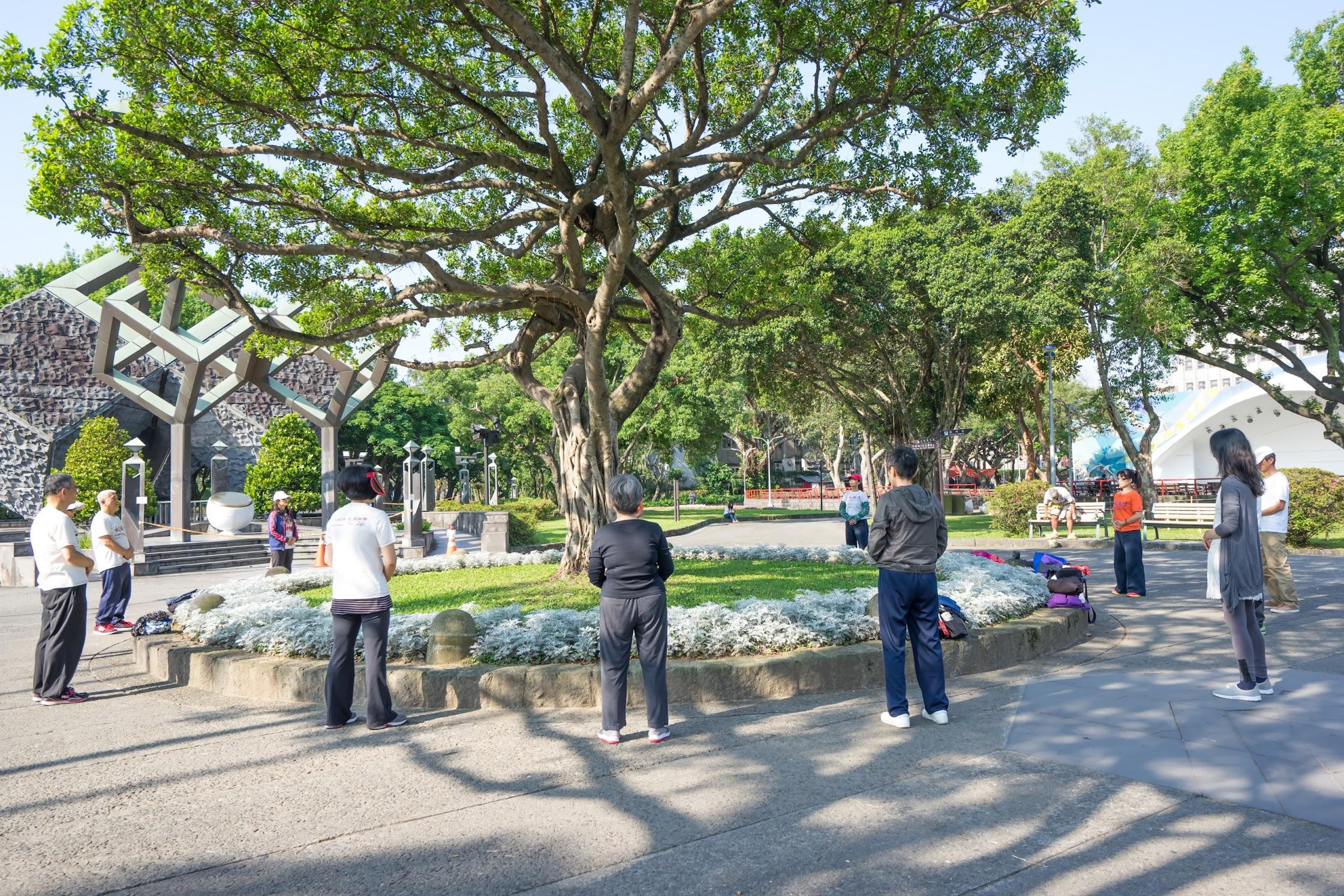 Taipei Peace Memorial Park Tai Chi