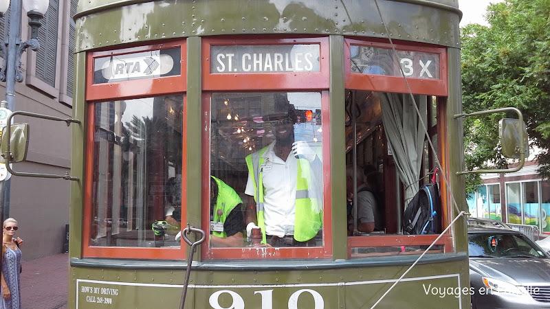 St Charles tram - NO
