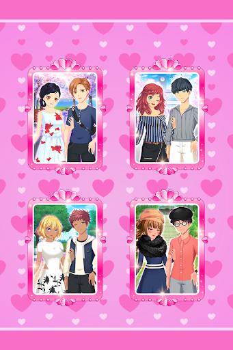 Anime Couples Dress Up Game android2mod screenshots 4