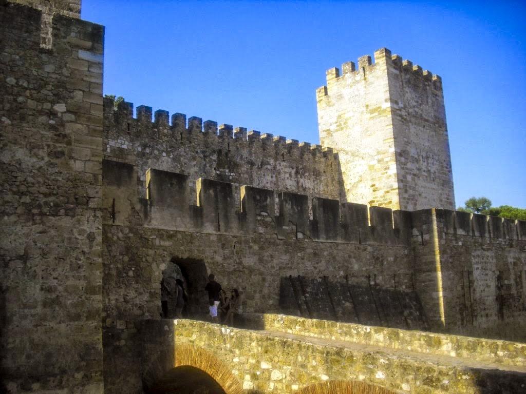Castillo de San Jorge en Lisboa.