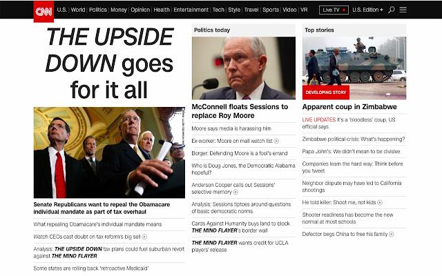 Upside Down Politics