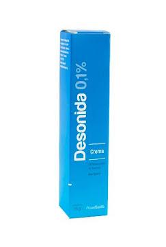 Desonida 0.1% Crema Tubo