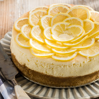 Lemon Mousse Cheesecake.