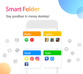 App APUS Launcher - Theme, Wallpaper, Hide Apps APK for Windows Phone