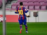 FC Barcelona haalt het vlot van Real Valladolid en Lionel Messi schrijft geschiedenis