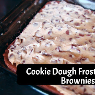 Cookie Dough Frosted Brownies.